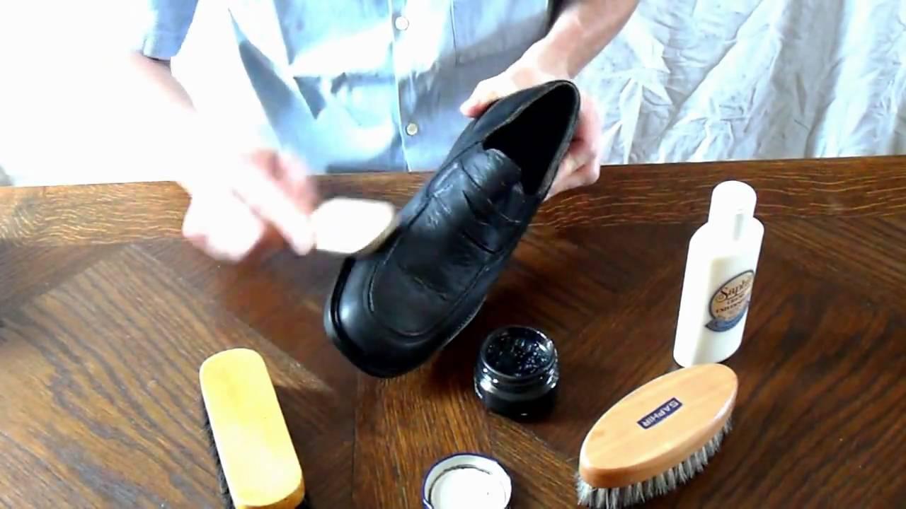 Cuir Des Cirer Chaussures Comment En yvNmw08nO