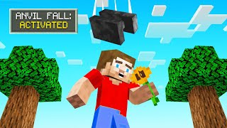 EAT FLOWERS = RANDOM STUFF HAPPENS! (Minecraft)