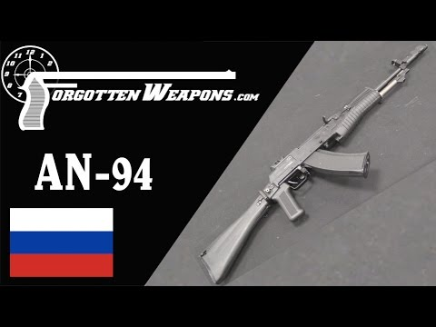 Rocket Surgery: Inside the Russian Nikonov AN94