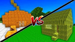 BALKABAĞI EV VS KARPUZ EV! (Minecraft)