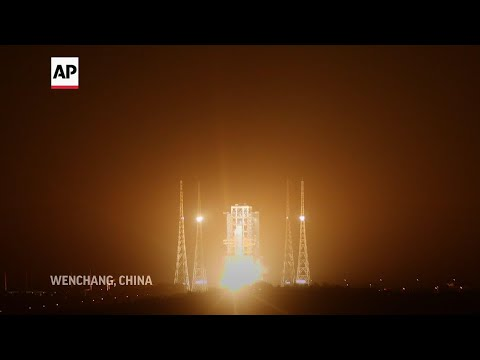 Associated Press: China launches mission to bring back moon rocks