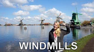 Amsterdam: Zaanse Schans - Windmills, waffles & Clogs | The Netherlands in HD
