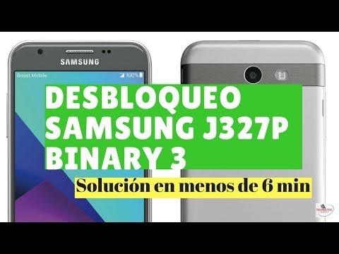 ⭐Cómo Desbloquear Samsung j327p Binary 3 y 4⭐ |Solución【2019 】