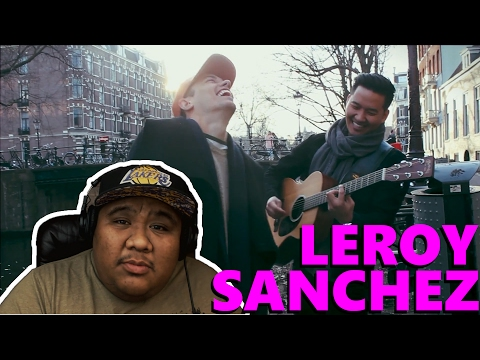 Leroy Sanchez - Versace on the Floor by Bruno Mars [MUSIC REACTION]