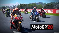 MotoGP 20 TV REPLAY race at Valencia as Valentino Rossi 2020