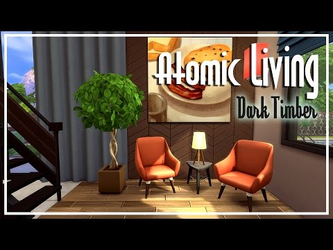 The Sims 4 Speed Build - [Atomic Living] Dark Timber