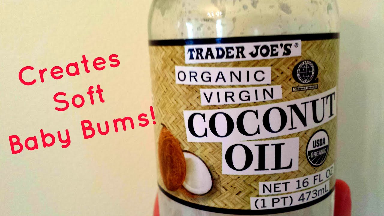 Coconut Oil and Cloth Diapers - YouTube