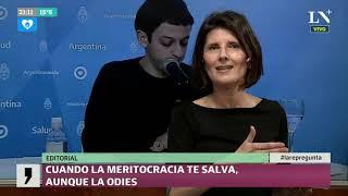 Cuando la meritocracia te salva, aunque la odies - Editorial de Luciana Vázquez