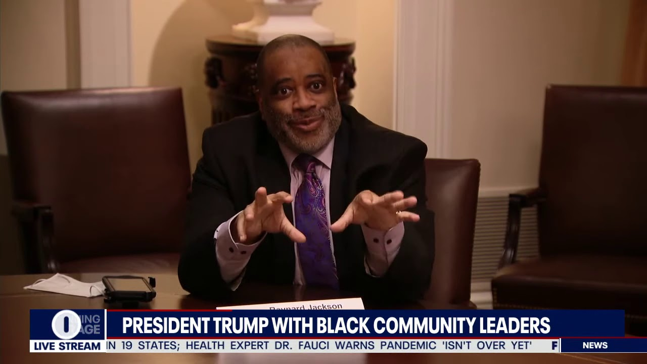 COMING TOGETHER: President meets with black community leaders