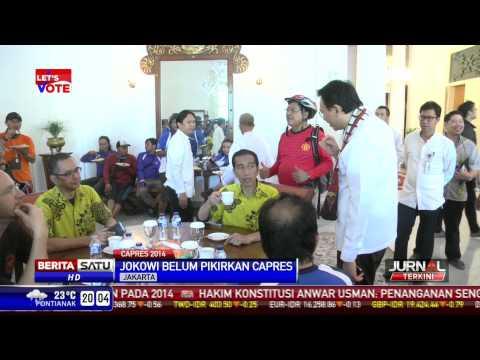 Jokowi Nyanyikan Lagu Rhoma Irama Saat Ditanya Soal Capres