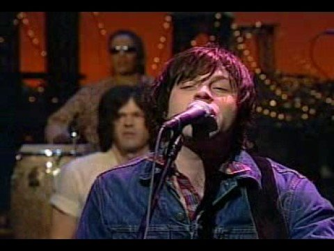 Ryan Adams on David Letterman --