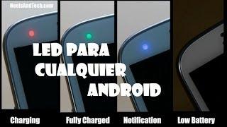 aplicacion para tener led en cualquier android sin tener un led // andro gp