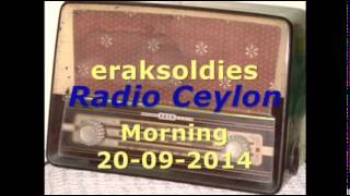 Radio Ceylon 20 09 2014~Saturday Morning~01 Film Sangeet (Theme -  Neend)
