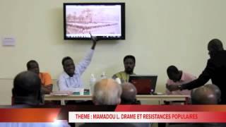 MAMADOU LAMINE DRAME ET LES RESISTANCES POPULAIRES PAR YAYA SY ANTHROPOLOGUE