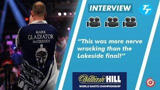 Mark McGeeney on Ally Pally debut: