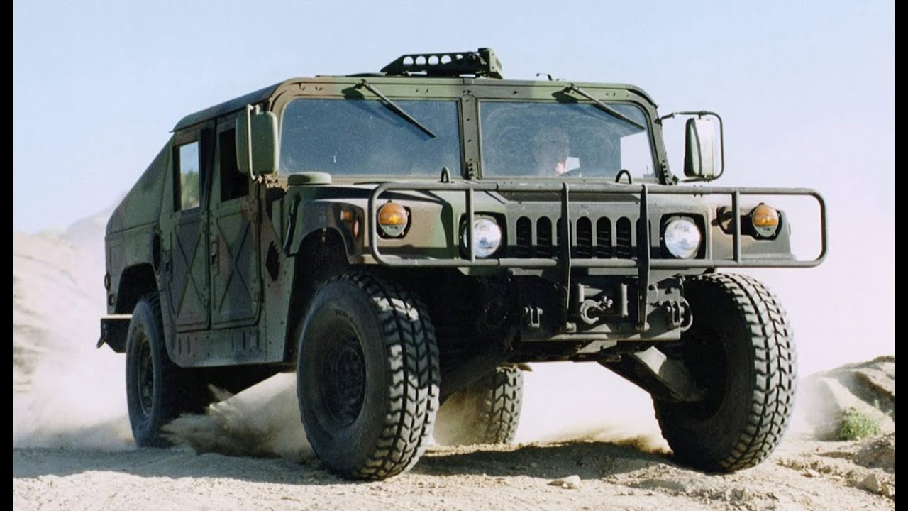US Army Main Jeep : The Hummer (Humvee) - YouTube