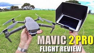 DJI MAVIC 2 PRO Review - [Flight Test In-Depth / Pros & Cons]