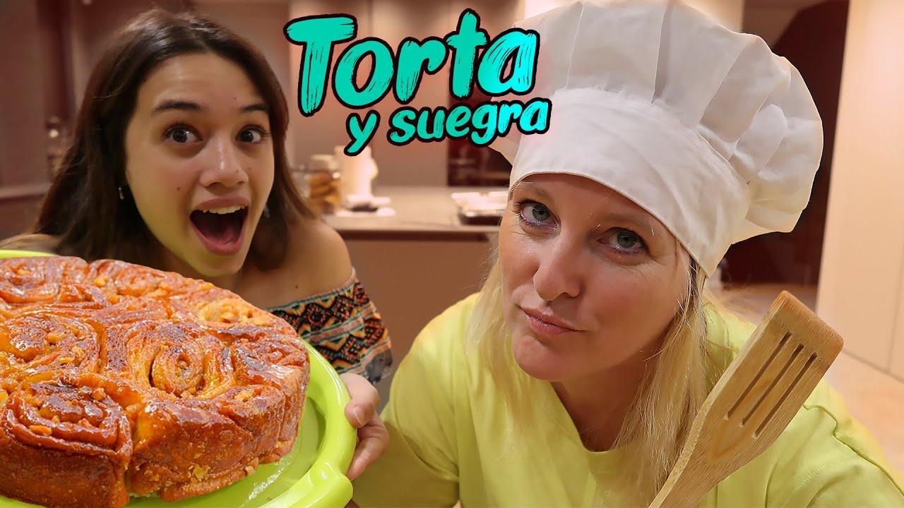 TORTA DE 80 GOLPES CON MI SUEGRA 🎂