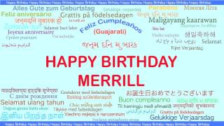 Merrill   Languages Idiomas - Happy Birthday