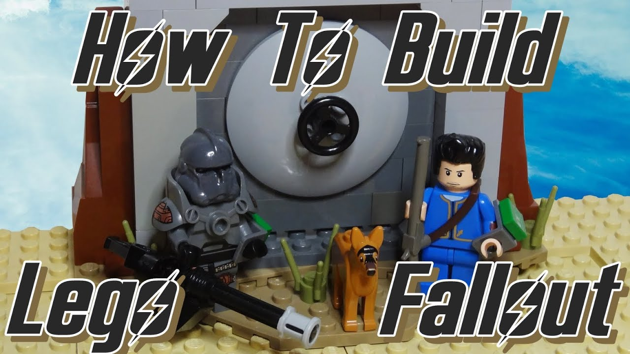 How To Build Lego Fallout 4 The Sole Survivor with power armor  YouTube