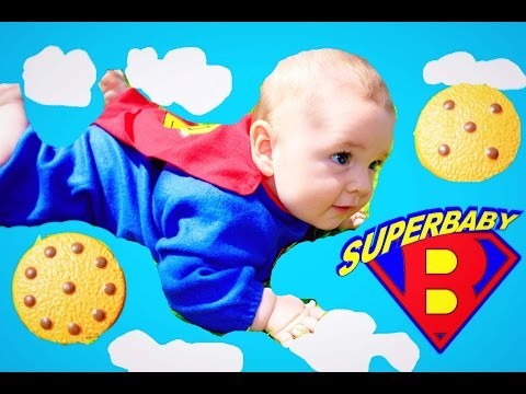 BABY RESCUE Superman SUPER BABY Saves Ice Cream ~ Disney Incredibles Dress Up Funny Toy Cookie Video