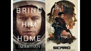 AJ's Movie Reviews: The Martian, Sicario, Cooties, Me & Earl & The Dying Girl & More!(10-6-15)