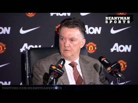 Manchester United - Louis van Gaal -  Enjoys Falcao 'Job Security' Joke With Journalist