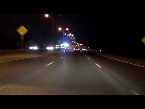 Interstate 610 - Louisiana westbound (Night)
