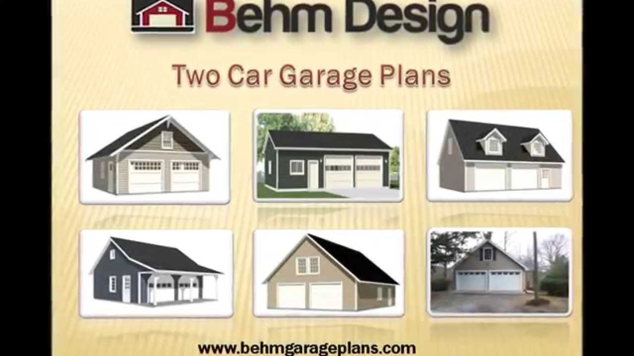 How can we get 2 car garage plans youtube for Two car garage with workshop plans