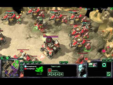 Laddergame #16 - Back to Gold TvZ Mech Macrogame on Cactus Valley
