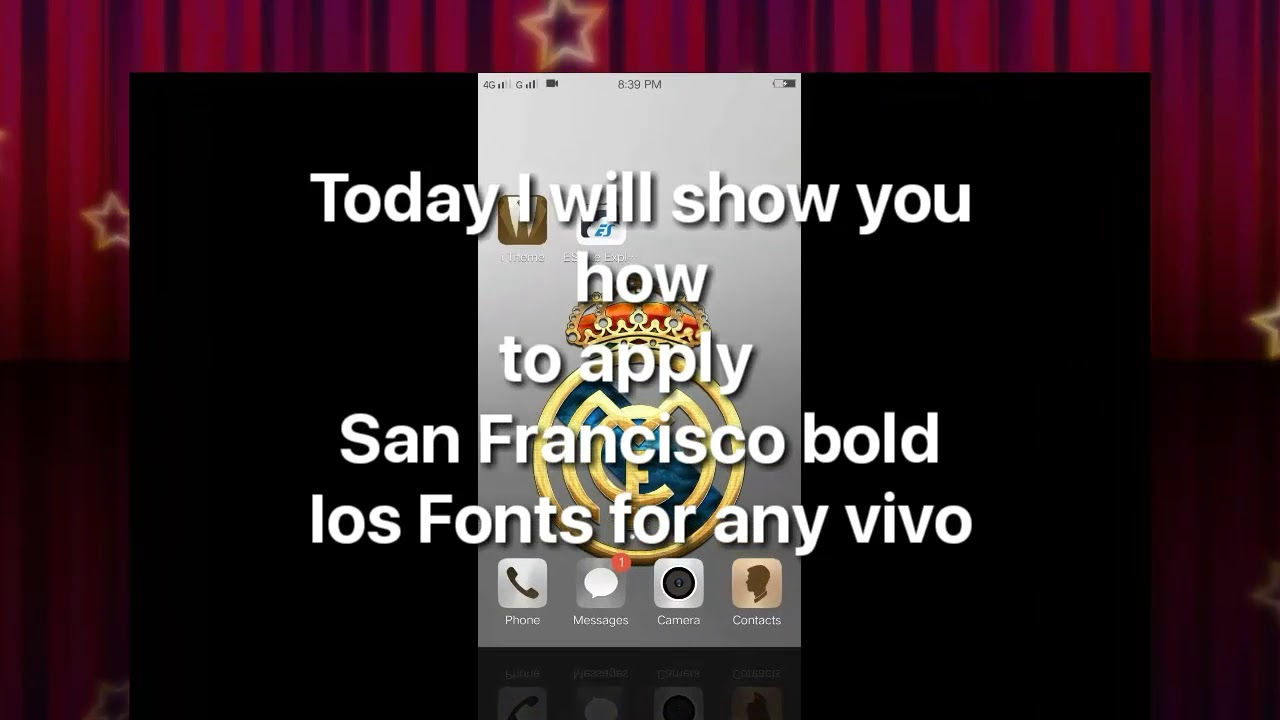 SAN Francisco bold (iphone) fonts for any vivo