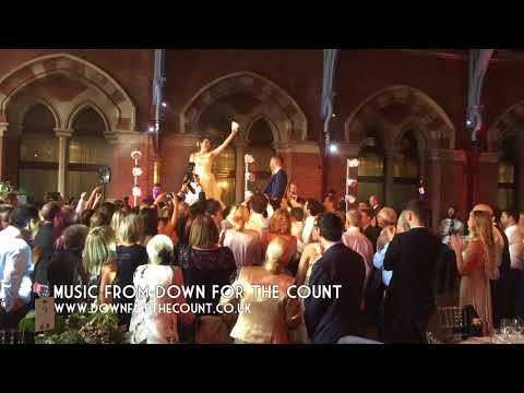 "The Horah - Traditional jewish wedding dance to ""Hava Nagila"" with live music"
