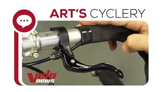 Ask a Mechanic - Installing Secondary Cross Top Brake Levers