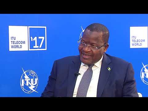 ITU TELECOM WORLD 2017 : Prof Umar Garba Danbatta, Executive Vice Chairman & CEO, NCC