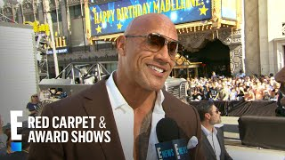 """Dwayne Johnson Talks Working With Ex-Wife on """"Hobbs & Shaw"""" 