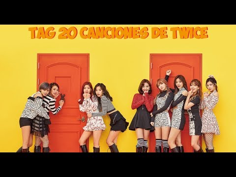 TAG 20 CANCIONES DE TWICE
