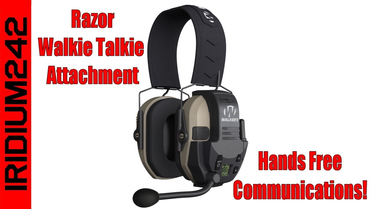Walker's Razor Walkie Talkie Add On: Hands-free Communication