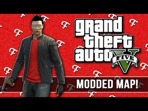 GTA 5: The Big One Modded Map (Comedy Gaming)