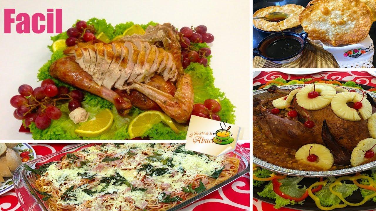 Ideas para cena de thanksgiving o navidad youtube - Ideas de cena de navidad ...