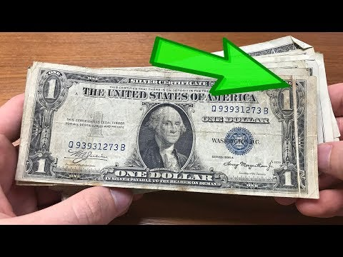 RARE & VALUABLE Dollar Bill Find - Error Gutter Fold Currency Note