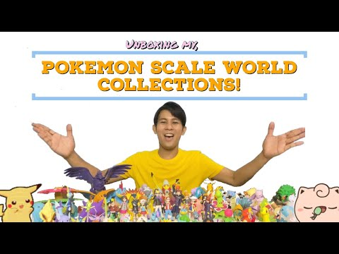 Unboxing my whole POKEMON SCALE WORLD COLLECTIONS!!   Poke'Ron