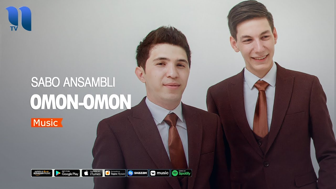 Sabo Ansambli - Omon omon | Сабо Ансамбли - Омон омон (music version)
