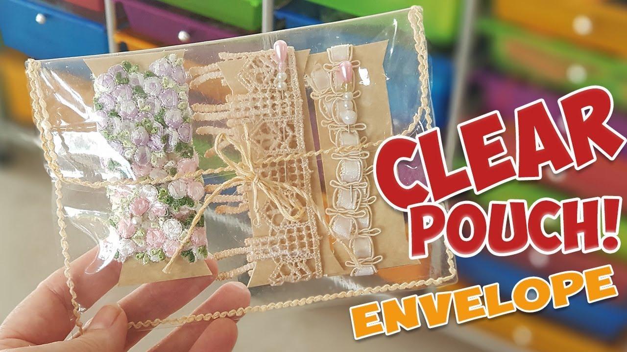 clear vinyl pouch envelope