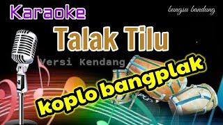 Download lagu TALAK TILU - Karaoke Koplo//Versi Kendang Rampak