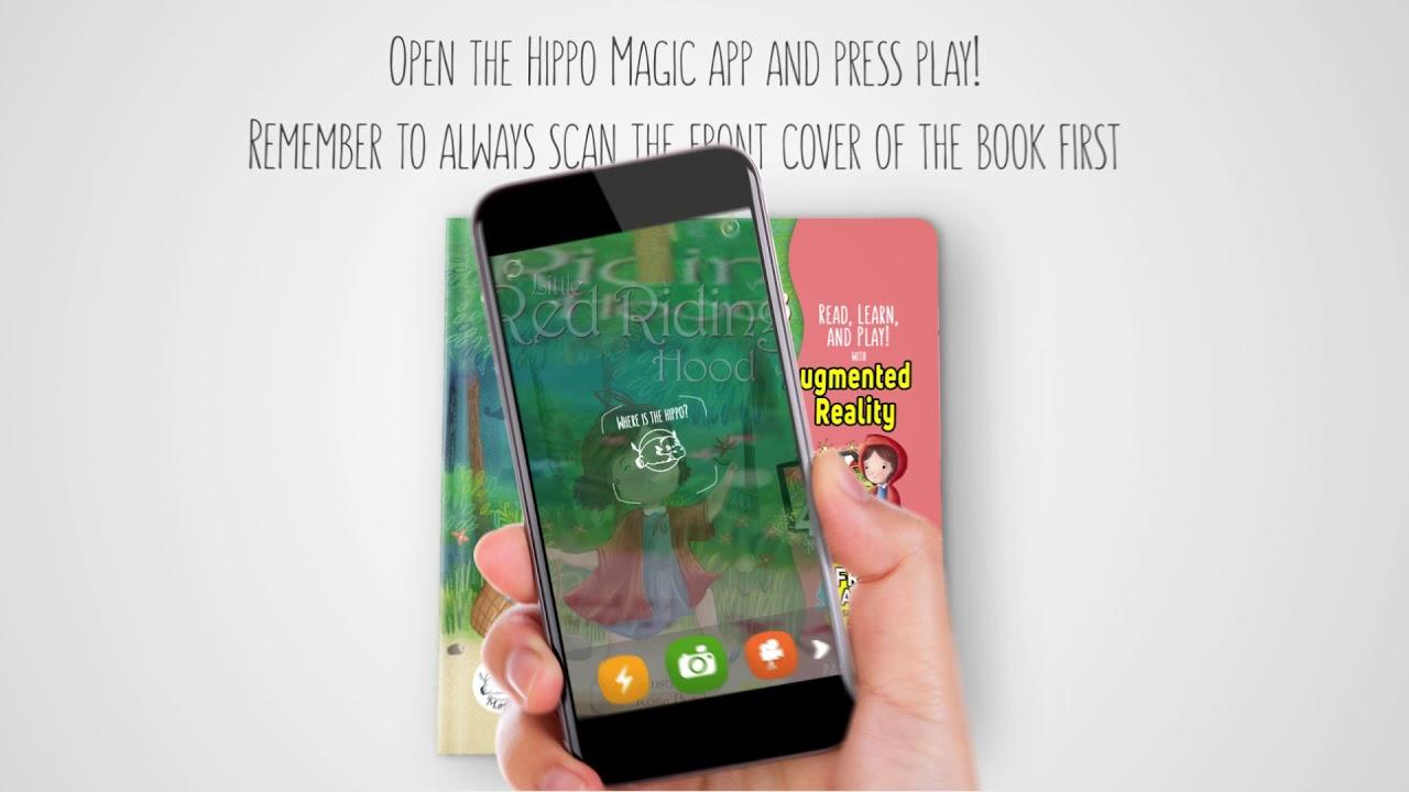Hippo Magic App How-to – Little Hippo Books
