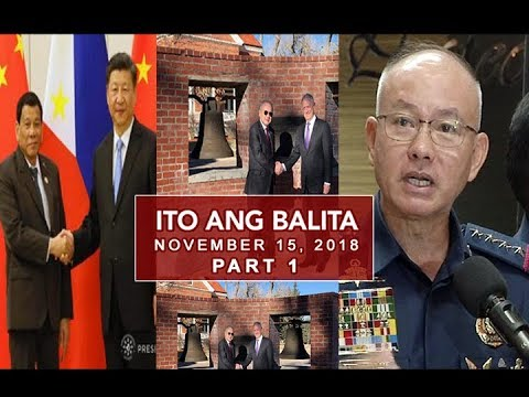 UNTV: Ito Ang Balita (November 15, 2018) PART 1