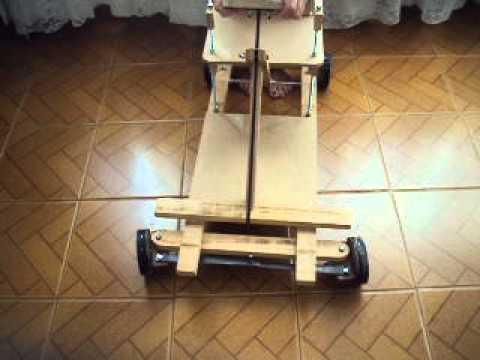 Well-known carrinho com rodas de madeira - YouTube KD65