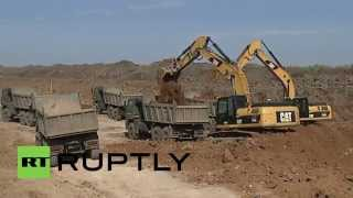 Russia: Second stage of construction on railway that will bypass Ukraine underway