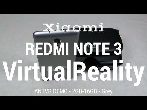 Xiaomi Redmi Note 3 Virtual Realty Demo - ANTVR