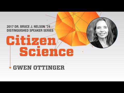 Political scientist Gwen Ottinger - 2017 Nelson Speaker Series